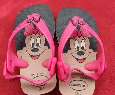 HAVAIANAS Baby Disney Classic Minnie Mouse 12 -18 Months
