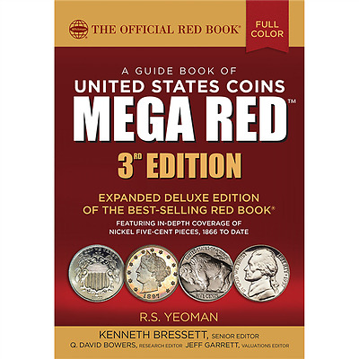 BEST COIN PRICE GUIDE!! 2018 MEGA Red Book Of US Coins Softcover Redbook