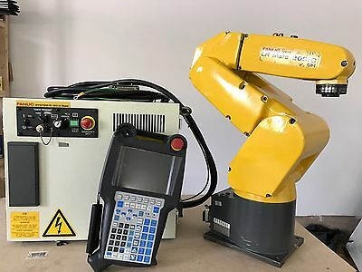 Fanuc Robot LR Mate 200iC 5H R30iA Controller Tested Industrial Robot