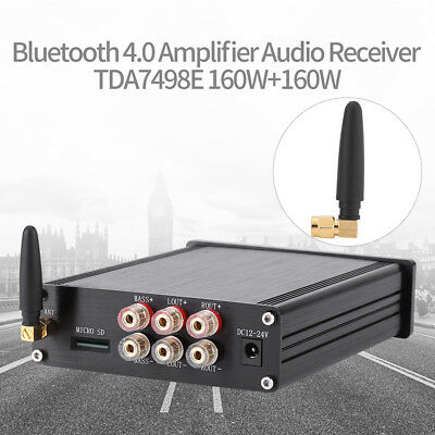 TDA7498E 160W+160W Dual-channel Bluetooth 4.0 Amplifier Audio Receiver LJ