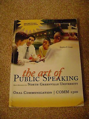 The Art of Public Speaking by Lucas for NGU (139780077669300)