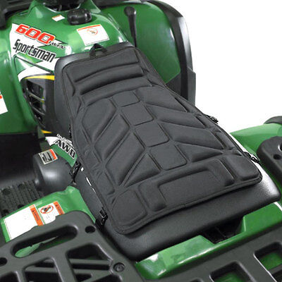 ATV Comfort Ride Seat Protector Cover Black Soft 4 Wheeler Motorcycle Dirtbike