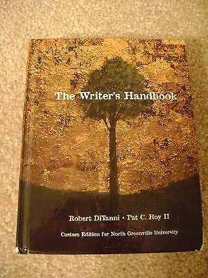 The Writer's Handbook by DiYanni and Hoy for NGU (9781256320005)
