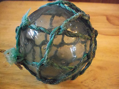 antique japaniese fishing net float