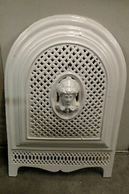 Victorian 1860's Architectural Salvage Antique Fireplace Summer Cover arched
