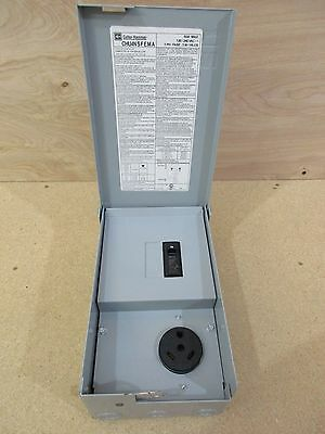 Eaton Cutler-Hammer CHU4NSFEMA 30 Amp RV Power Outlet Panel Box with Breaker