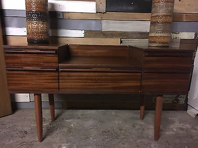 Teak retro sideboard GPlan Style Mid Century chest 5 drawers delivery available