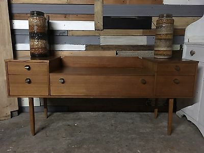 Teak retro Avalon sideboard G Plan Style Mid Century tv table delivery available