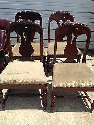 4 Formal Dinning Chairs Your shipper or Local Pickup. RM044