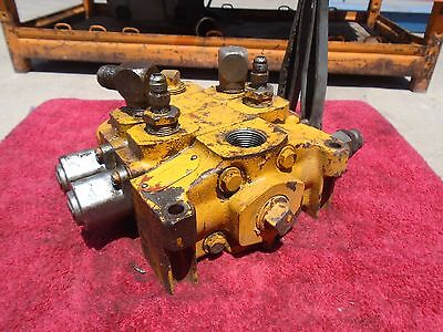 Commercial Intertech 2-spool Hydraulic Control Valve with Levers - 341-9202-203