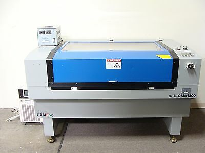 "CamFIVE CFL-CMA1200 Cutting & Engraving Laser Machine 50""x26"" Table 100W CO2"