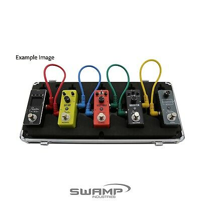 Rowin LC100 - Mini Pedal Board Case with Power Supply Cabling
