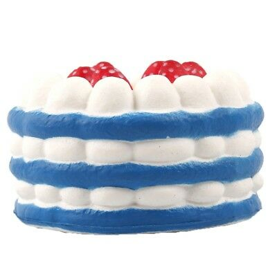 2 Pcs Slow Rising Cake Slice Squishy Toy for Kids | Cute Charms for Cell Phone S