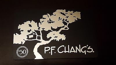 $50 PF CHANGS Restaurant Gift Card