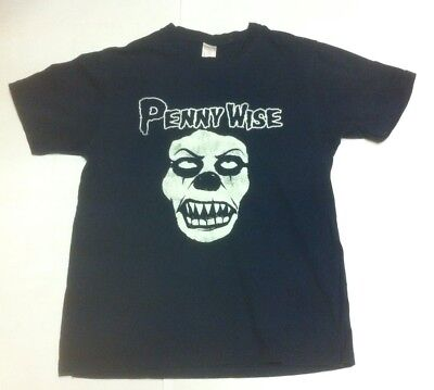 Pennywise IT Stephen King Scary Clown T-Shirt Vintage Horror Cult
