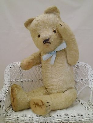 "Lovely vintage Hungarian teddy bear 48cm - 18,9""/Antiguo oso húngaro 1950's"