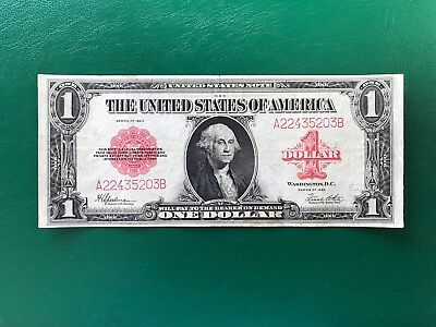 Fr-40 Red Seal $1 Large Notes