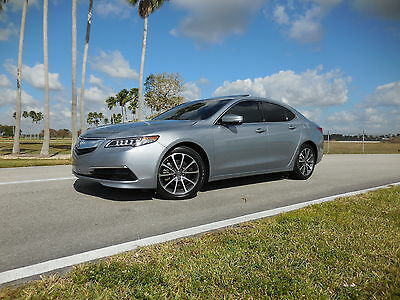 2015 Acura TLX Technology Package 4Door 2015 Acura TLX 3.5 V6 Technology Package Tech