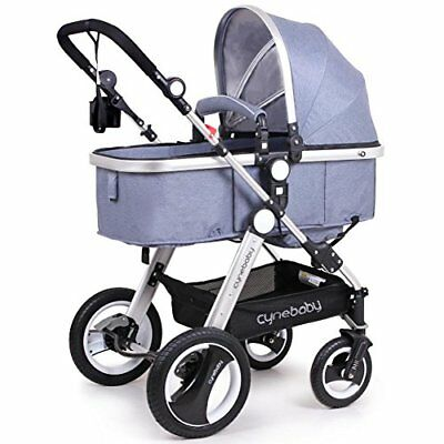 Cynebaby Newborn Baby Stroller for Infant and Toddler City Select Folding...