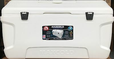 Igloo MaxCold Large 165 Quart 156 Litre 280 Can Cool Box & 7 Day Ice Cooler NEW!