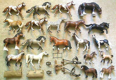 Lot of 20x SCHLEICH Germany HORSE Figurines