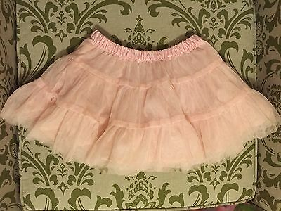 Carters Girls Pink Tulle Tutu Skirt Size 3T