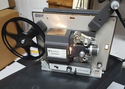 """Bell & Howell 462A Autoload """"Super 8"""" 8mm Movie Projector Works great!"""