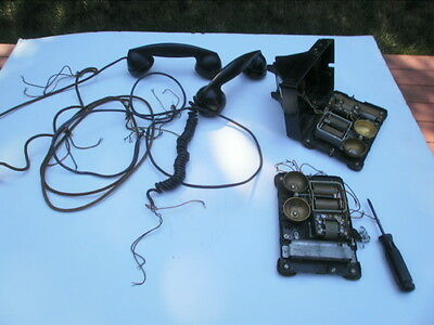 Lot Of Western Electric 302 Parts