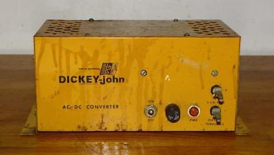 """""""DICKEY-john"""" ~ FIRST in AGRIONICS ~ SEED PLANTER AC/DC CONVERTER"""