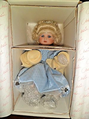 Marie Osmond Angel Baby New Millennium Collection Porcelain Doll & Wings   NIB