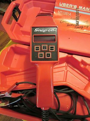 Snap-On  Mt-1261A  6-12 Volt Computerized Tach-Advance Timing Light Toolusa