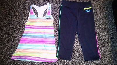 FILA  girls outfit sz. 7/8 and 10/12 EUC!!