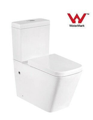 Toilet Suite Ceramic Back To Wall Soft Close Uf Seat - P Or S Trap - Model Jade