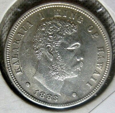 1883 Hawaiian Dime High Grade Uncirculated