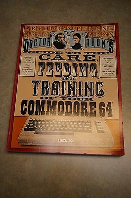 1992 Doctor Aron's Guide To Care Feeding And Training Of Your Commodore 64 Book