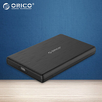 ORICO 2.5 Inch USB3.0 Type-A to Type-C Hard Drive Disk Enclosure Case for SSD