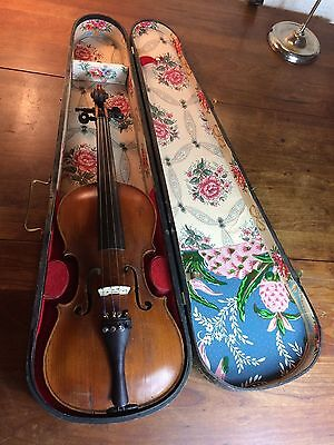 Antique German violin Stainer with wood case