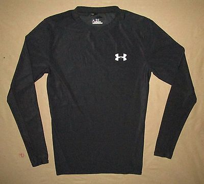 LRG Youth Under Armour Heat Gear L/S Athletic Shirt Fitness Activewear Kids
