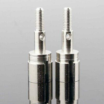 RC HSP 02033 Silver Wheel Axle 2PCS For HSP 1:10 On-Road Car Buggy Silver New