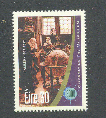 Galileo-Astronomer-Science-Space mnh single-Ireland-1305