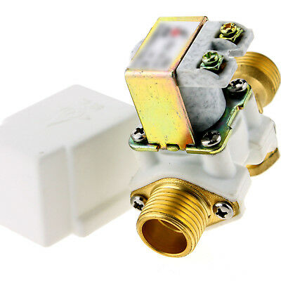 """Heavy Duty N/c 12V Dc 1/2"""" Electric Solenoid Valve Normally Closed For Water Air"""