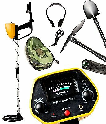 MYLEK Metal Detector Professional Kit Gold Silver Waterproof Discriminating