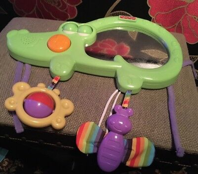 FISHER PRICE Luv U Zoo 2 In 1 Tummy Timer. Crocodile.