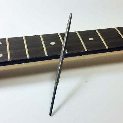 """3-Corner Fret End Dressing Smooth File - Small 4"""" Guitar Accessories 3/16"""" Wide"""