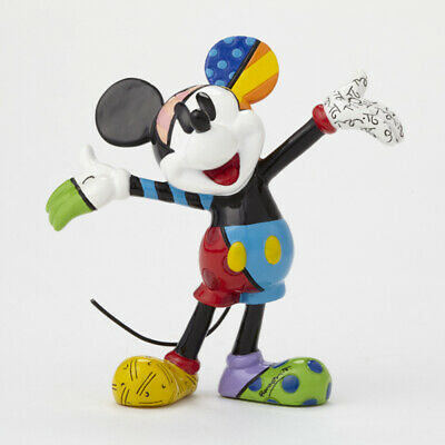 NEW Disney Britto MICKEY MOUSE Arms Out Mini Figurine 4049372 BNIB Authentic