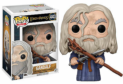 """The Lord Of The Rings Gandalf 3.75"""" Vinyl Figure Pop Funko 444"""