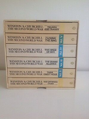 Winston S Churchill, The Second World War Complete Boxed Set