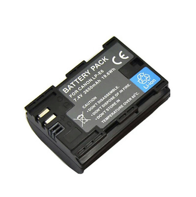 LP-E6N LPE6N Battery For Canon LP-E6 battery EOS 5D2 5D3 6D 60D 70D 7D Mark II