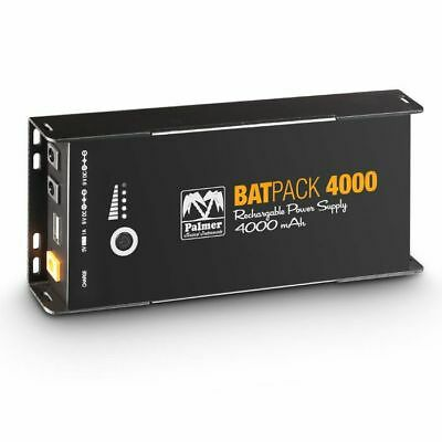 Palmer MI BATPACK 4000 Rechargeable Pedalboard Power Supply (4000mAh)