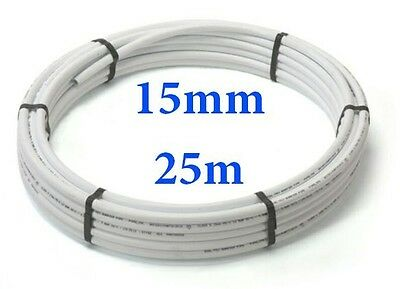 25mx15mm barrier pipe coil Speedfit compatible plumbing pushfit Collection Only